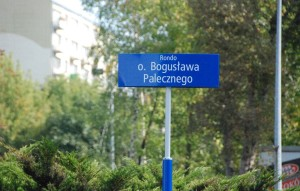 Uroczystość nadania imienia rondu: o. Bogusława Palecznego