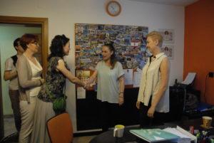 Wizyta posłanki Kornelii Wróblewskiej
