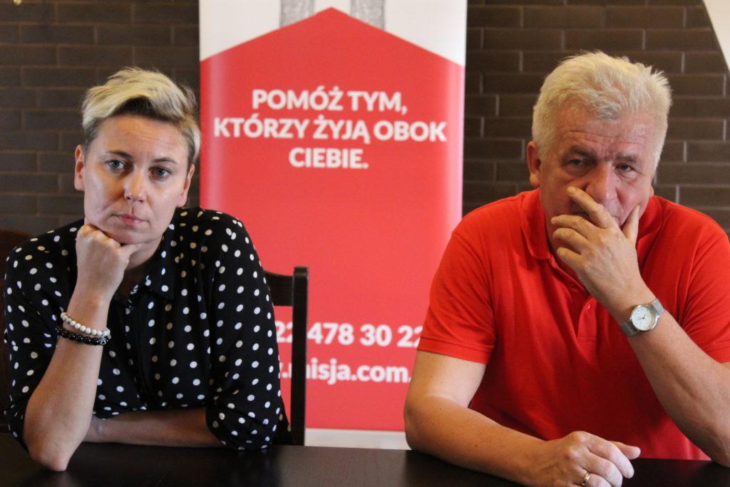 Spotkanie z kandydatem na prezydenta Warszawy Piotrem Ikonowiczem